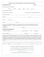 Credit Card Donation Form
